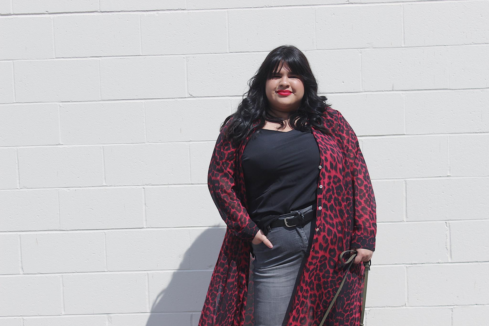 Curvy Women Can Wear Prints