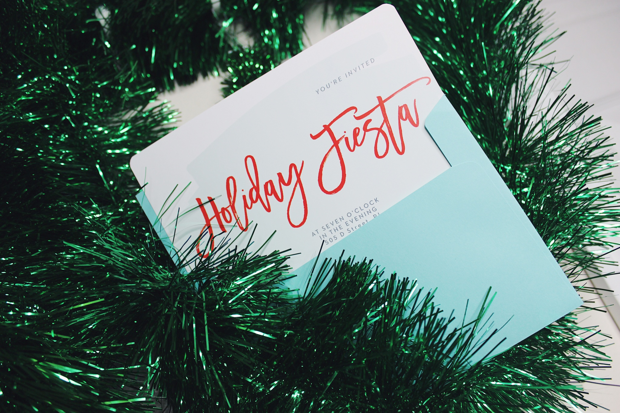 Staff holiday Party Invitations