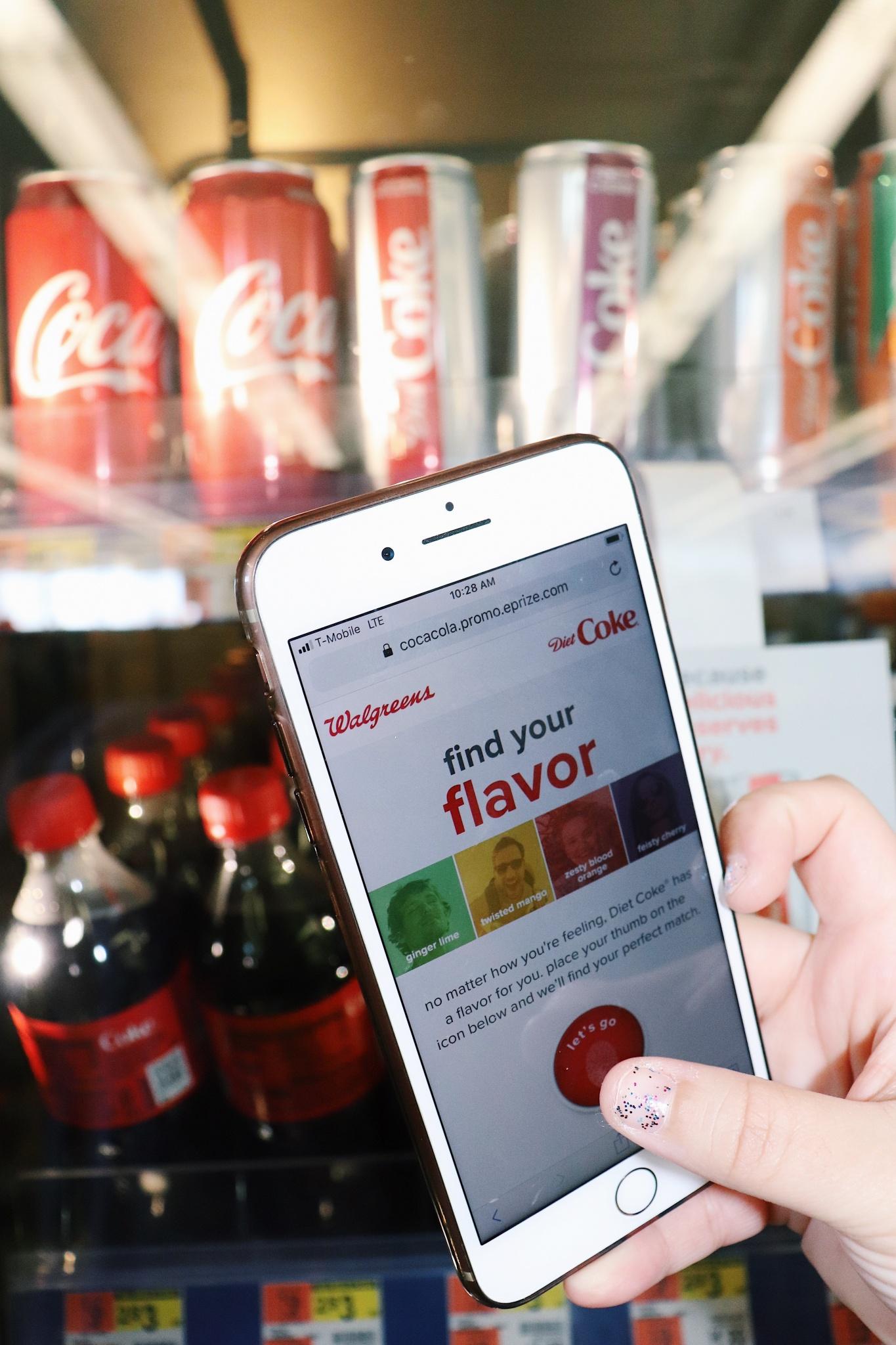 diet coke new flavors