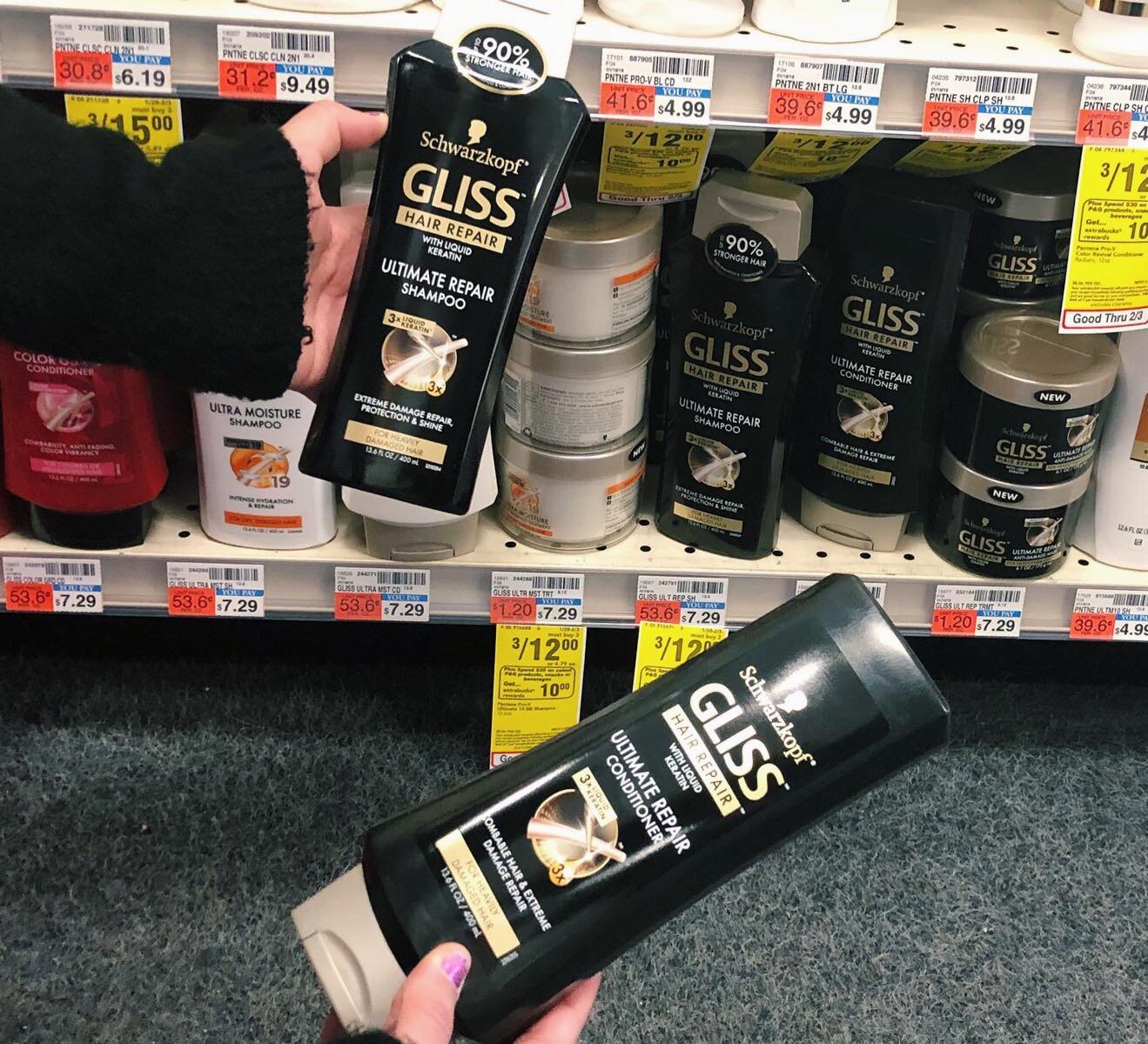 gliss hair repair
