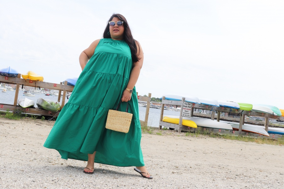 Women's Tiered Maxi Dress - Who What Wear Green
