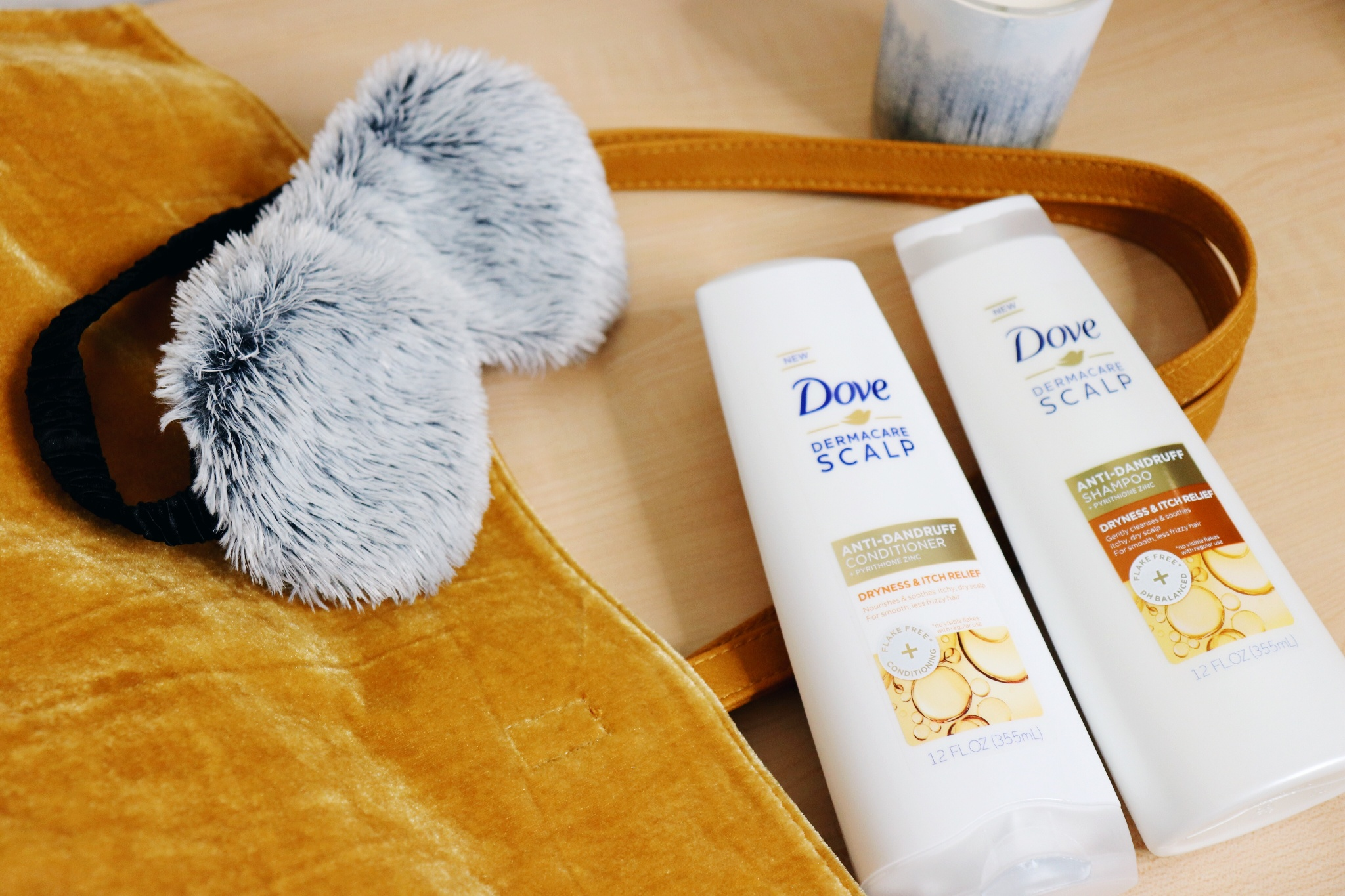 Keeping My Scalp Nourished with Dove Dermacare