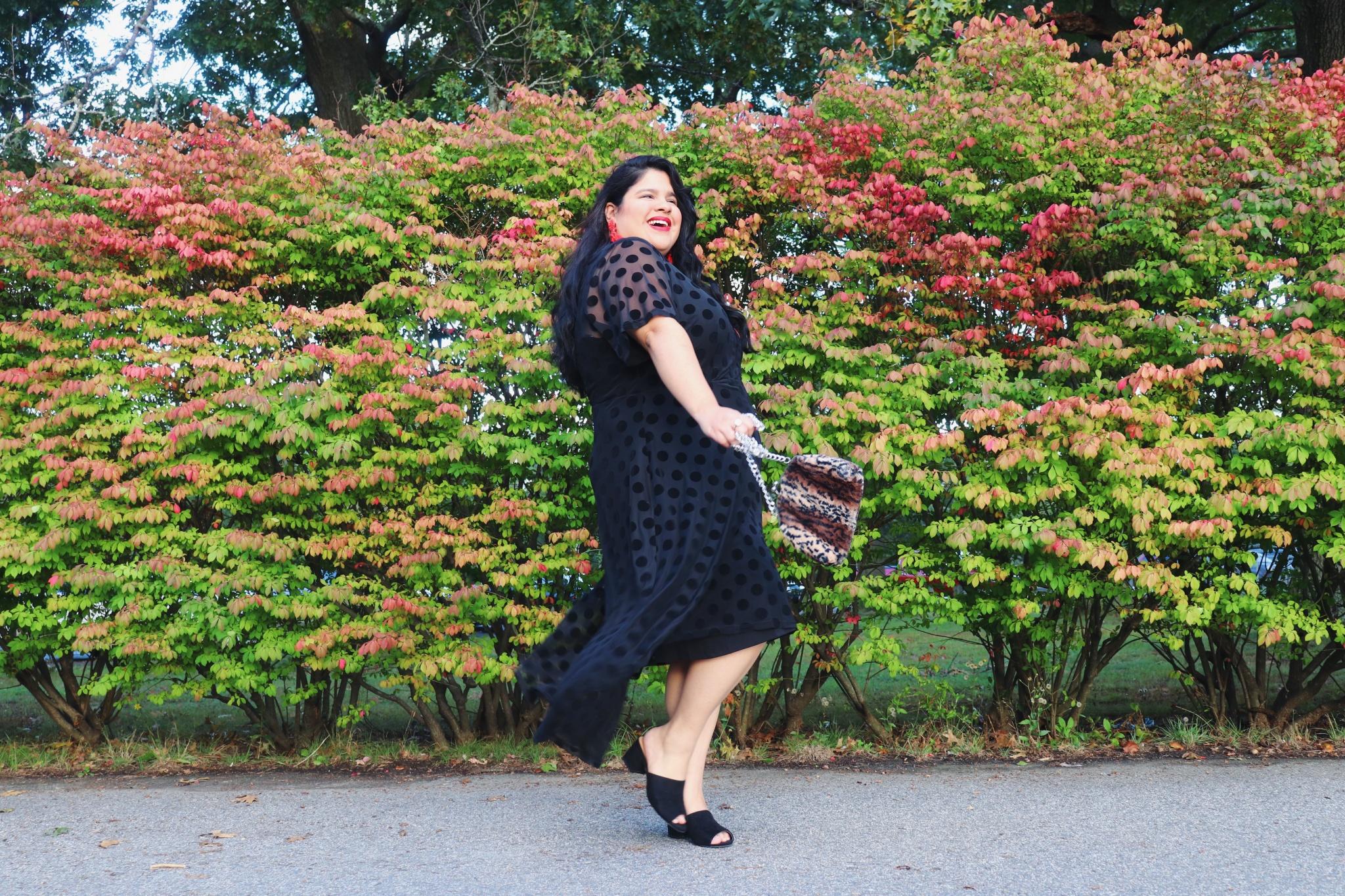 Macy's Plus Size Little Black Dress