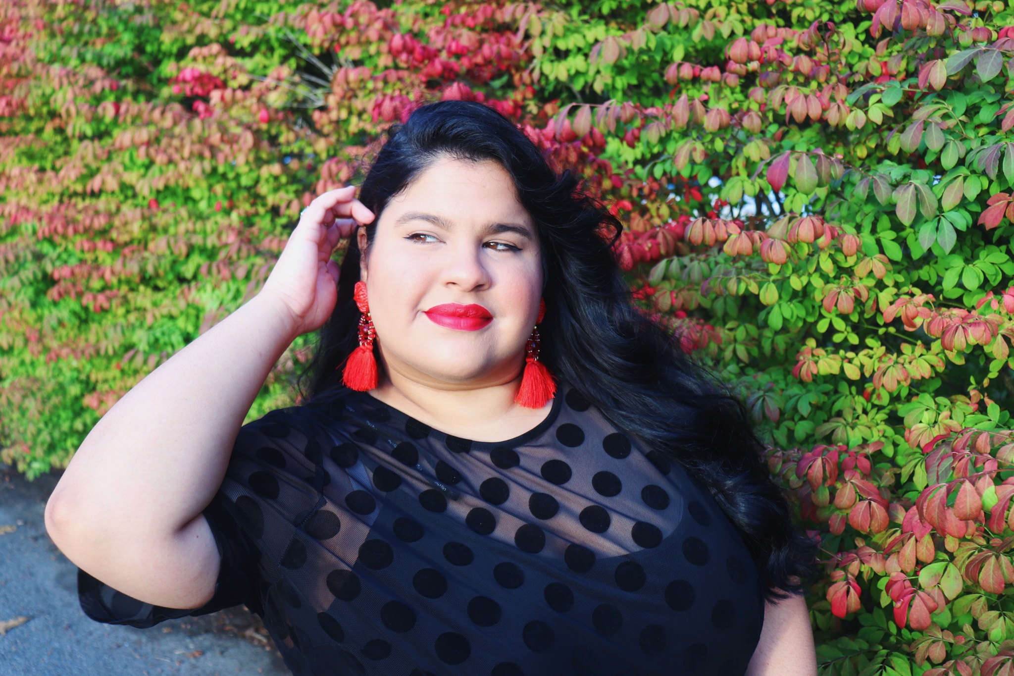 Macy's Plus Size Little Black Dress