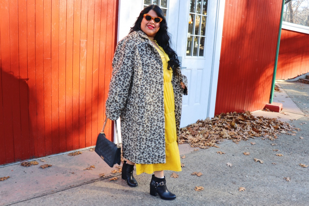Holiday Outfit- Velvet Plus Size dress