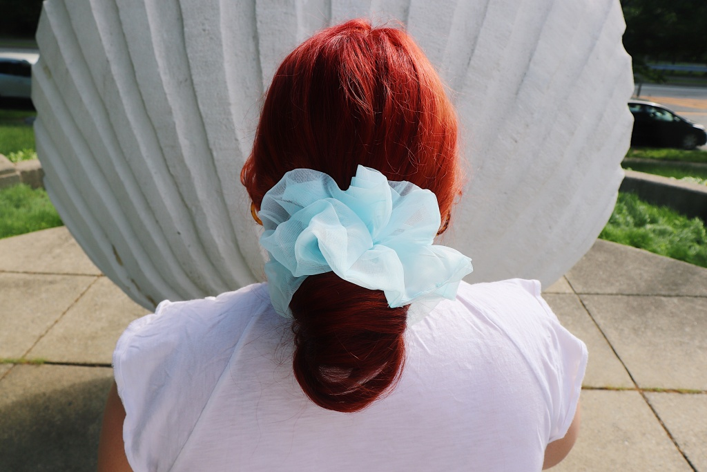 Red Hair Oversized Scrunchie